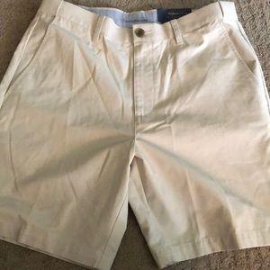 Men's khaki shorts - size 34